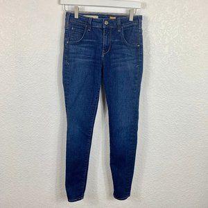 Anthro Pilcro High Rise Superscript Skinny Jeans